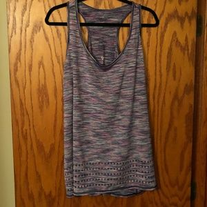 Livi Active | Colorful Racer-back Top | Sz 18/20